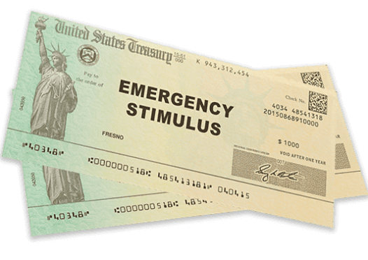 SECOND ROUND OF STIMULUS CHECKS